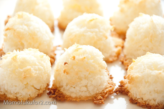 just made my their easy coconutgoodies made my angel macaroons